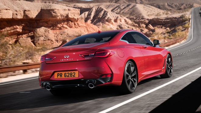 Xe coupe the thao Infiniti Q60 se co mat tai VIMS 2016 hinh anh