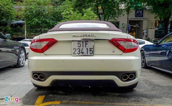 Dan xe sang Maserati xuat hien o trung tam Sai Gon hinh anh 6