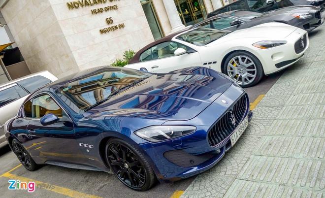 Dan xe sang Maserati xuat hien o trung tam Sai Gon hinh anh 2