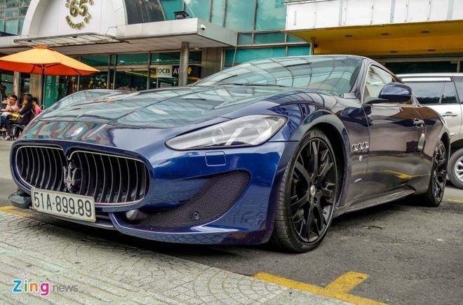Dan xe sang Maserati xuat hien o trung tam Sai Gon hinh anh 3