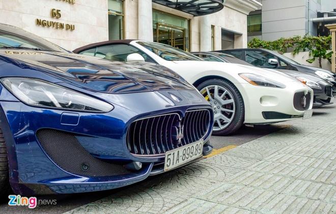 Dan xe sang Maserati xuat hien o trung tam Sai Gon hinh anh 4