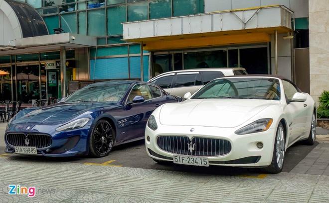 Dan xe sang Maserati xuat hien o trung tam Sai Gon hinh anh 5