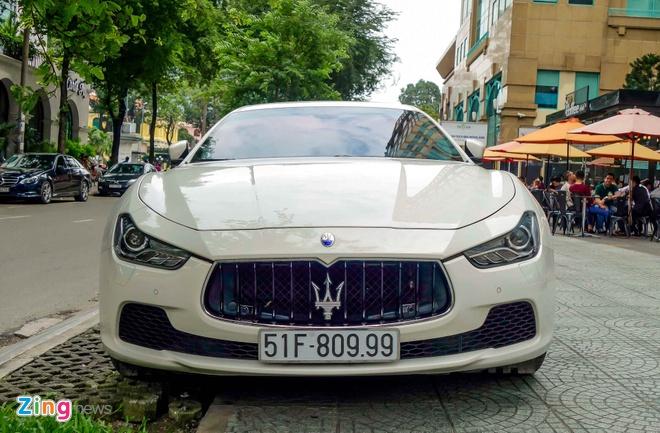 Dan xe sang Maserati xuat hien o trung tam Sai Gon hinh anh 7
