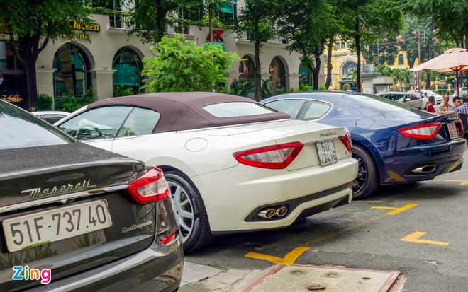 Dan xe sang Maserati xuat hien o trung tam Sai Gon hinh anh 9