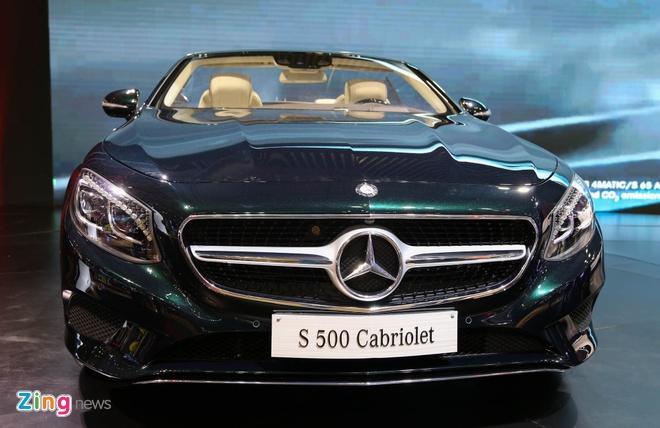 Mercedes S500 mui tran gia gan 11 ty vua ra mat tai VN hinh anh 1