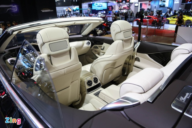 Mercedes S500 mui tran gia gan 11 ty vua ra mat tai VN hinh anh 4