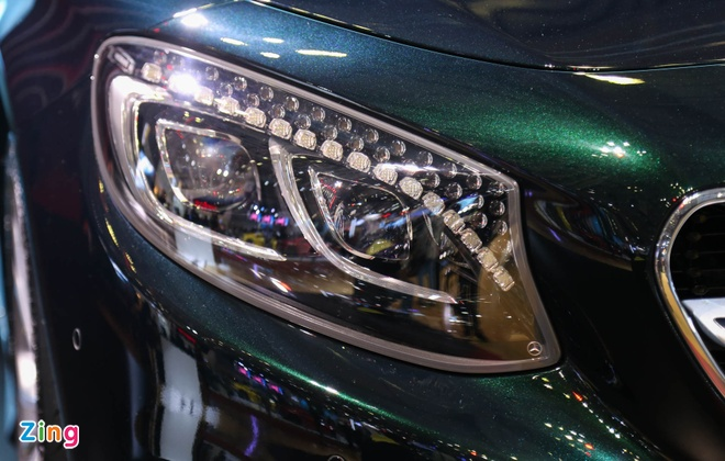 Mercedes S500 mui tran gia gan 11 ty vua ra mat tai VN hinh anh 8