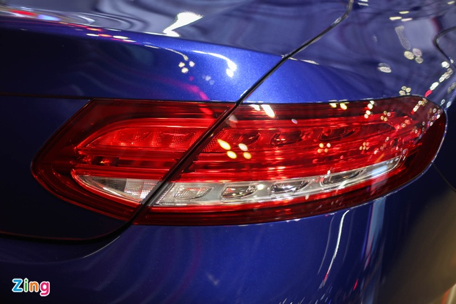 Chi tiet Mercedes C300 Coupe gia 2,7 ty dong tai VIMS hinh anh 10