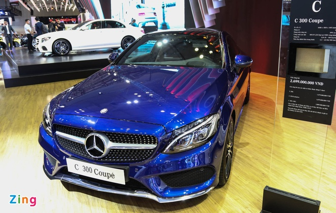 Chi tiet Mercedes C300 Coupe gia 2,7 ty dong tai VIMS hinh anh 2