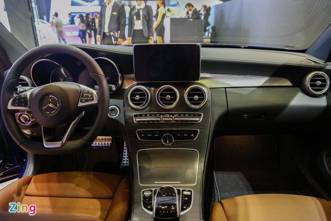 Chi tiet Mercedes C300 Coupe gia 2,7 ty dong tai VIMS hinh anh 5