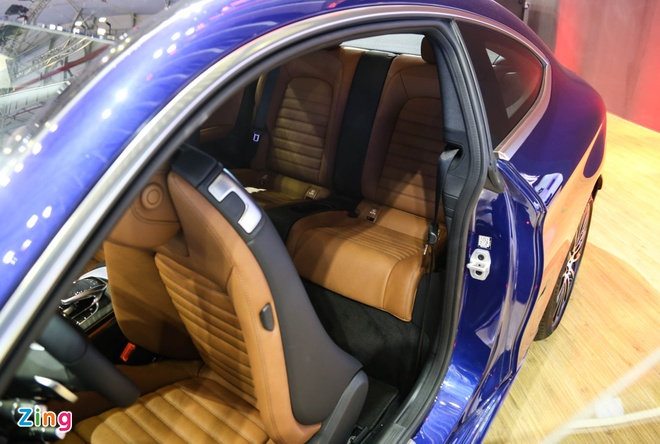 Chi tiet Mercedes C300 Coupe gia 2,7 ty dong tai VIMS hinh anh 7