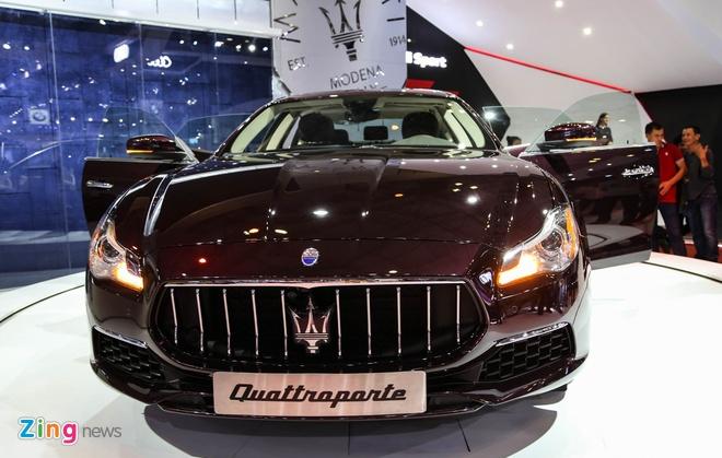 Maserati Quattroporte 2017 gia tu 6,1 ty o Viet Nam hinh anh 2