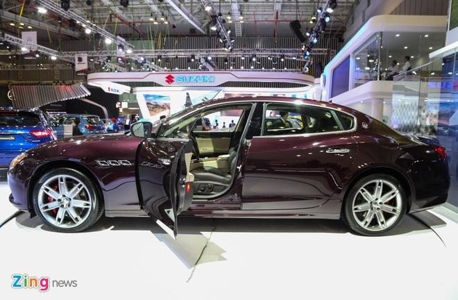 Maserati Quattroporte 2017 gia tu 6,1 ty o Viet Nam hinh anh 3