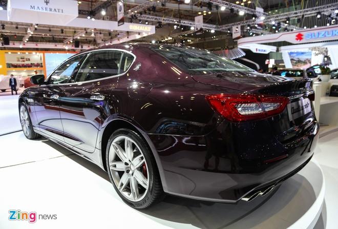 Maserati Quattroporte 2017 gia tu 6,1 ty o Viet Nam hinh anh 4