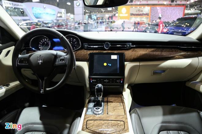 Maserati Quattroporte 2017 gia tu 6,1 ty o Viet Nam hinh anh 6