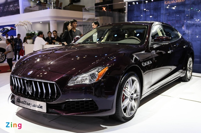 Maserati Quattroporte 2017 gia tu 6,1 ty o Viet Nam hinh anh 1