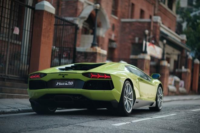 Lamborghini ra mat Aventador ban dac biet hinh anh 6