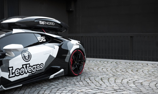 Lamborghini Huracan do nhanh nhat chau Au mau camo hinh anh 3