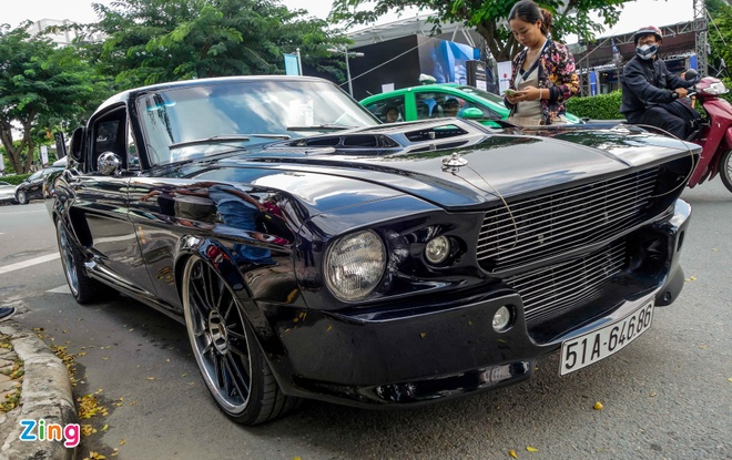 Ford Mustang 'Eleanor' do doc nhat tai Sai Gon hinh anh 13