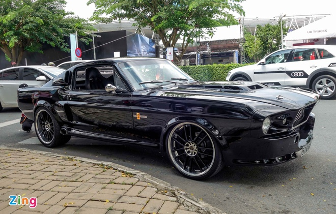 Ford Mustang 'Eleanor' do doc nhat tai Sai Gon hinh anh 2