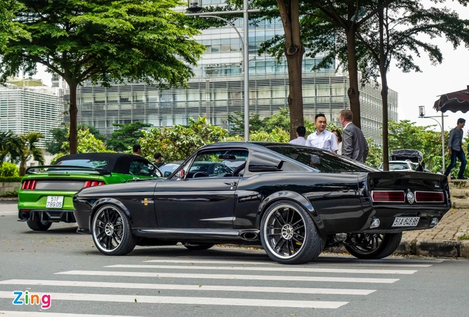 Ford Mustang 'Eleanor' do doc nhat tai Sai Gon hinh anh 3