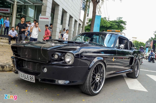 Ford Mustang 'Eleanor' do doc nhat tai Sai Gon hinh anh 4