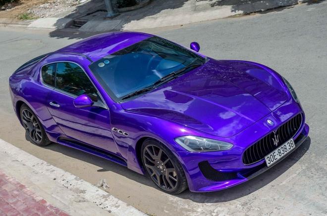 Maserati GranTurismo do MC Stradale mau tim o Sai Gon hinh anh