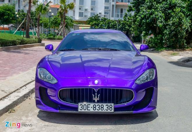 Maserati GranTurismo do MC Stradale mau tim o Sai Gon hinh anh 1
