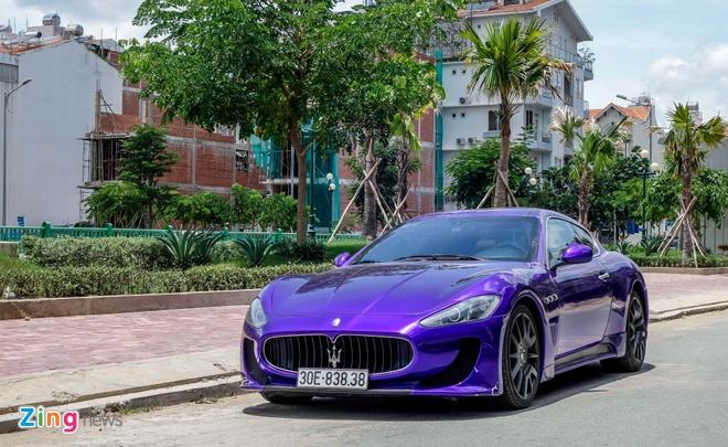 Maserati GranTurismo do MC Stradale mau tim o Sai Gon hinh anh 2