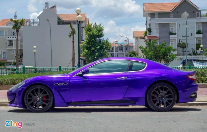 Maserati GranTurismo do MC Stradale mau tim o Sai Gon hinh anh 6