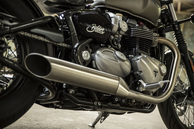 Triumph Bonneville Bobber 2017 - xe Anh hon My hinh anh 4