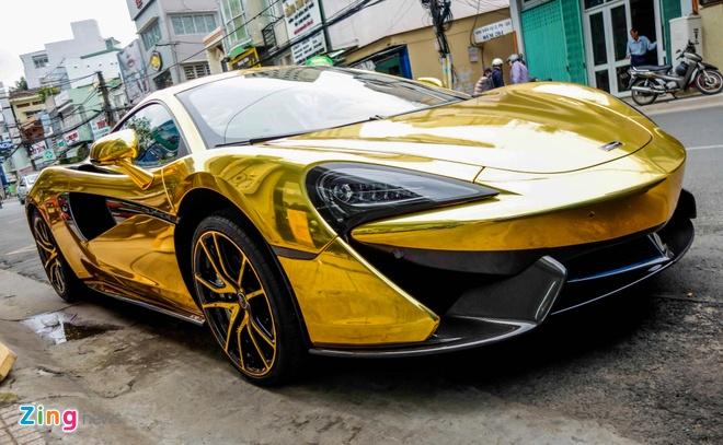 McLaren 570S ma vang cua Cuong Do La anh 1