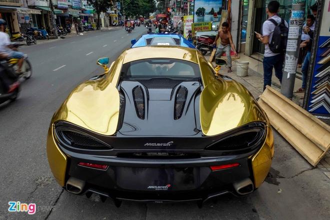 McLaren 570S ma vang cua Cuong Do La anh 4
