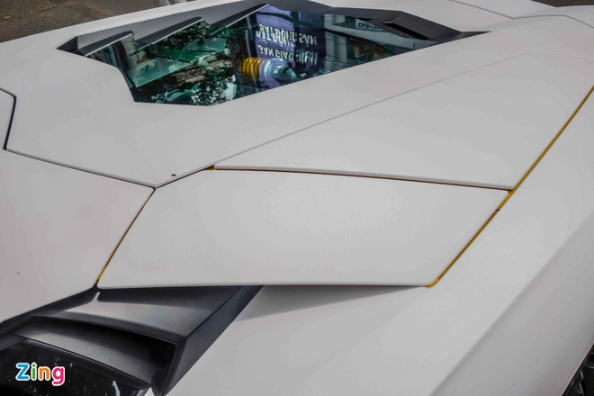 Lamborghini Aventador dau tien Viet Nam doi mau hinh anh 5