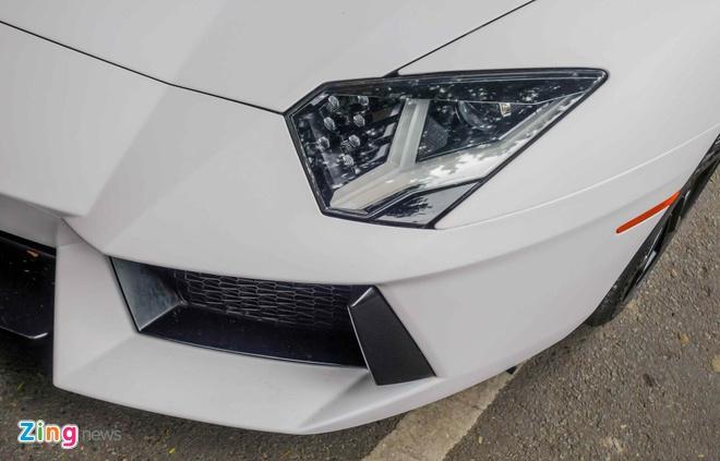 Lamborghini Aventador dau tien Viet Nam doi mau hinh anh 6