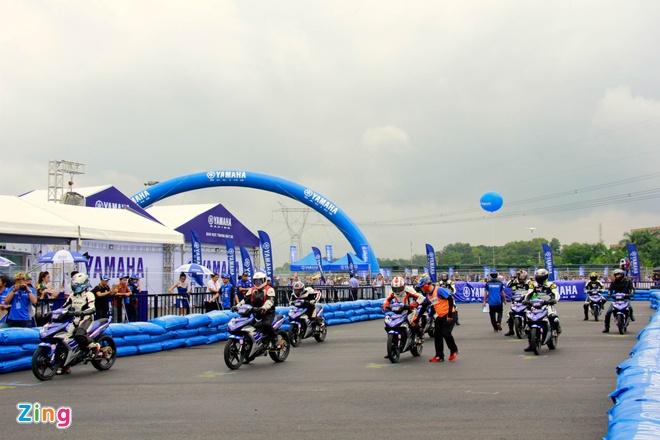 Giai dua xe Yamaha Exciter 150 anh 1