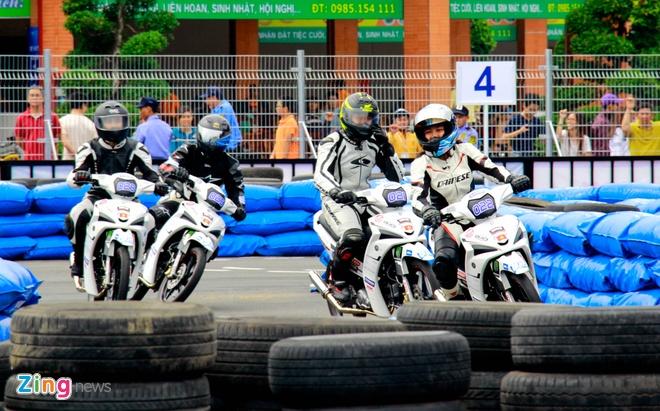 Giai dua xe Yamaha Exciter 150 anh 5