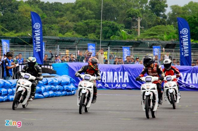Giai dua xe Yamaha Exciter 150 anh 12