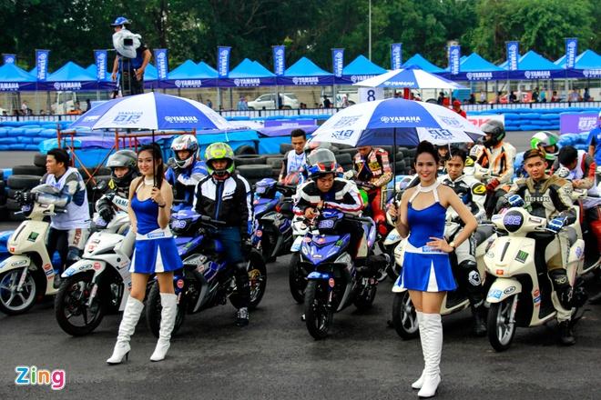 Giai dua xe Yamaha Exciter 150 anh 2