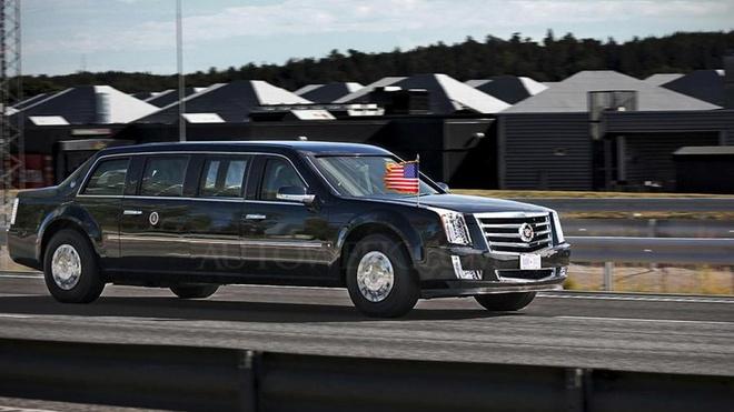Sieu limousine cua Donald Trump co gi moi? hinh anh 3