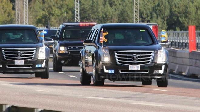 Sieu limousine cua Donald Trump co gi moi? hinh anh