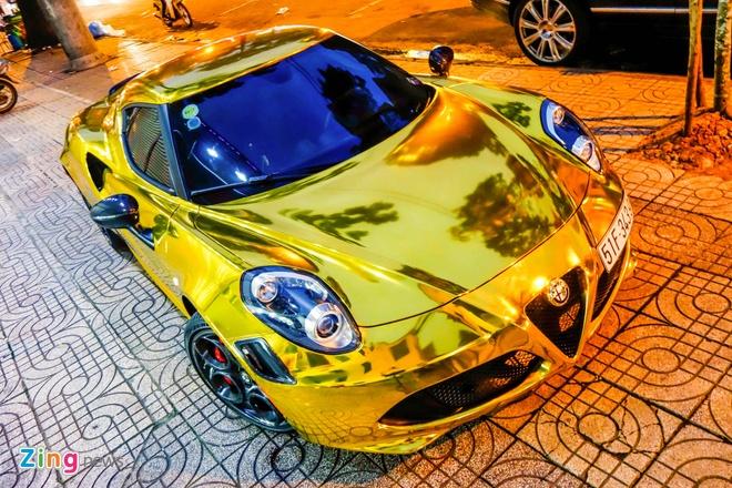 Alfa Romeo 4C Sai Gon ma vang phong cach dan choi Dubai hinh anh 4