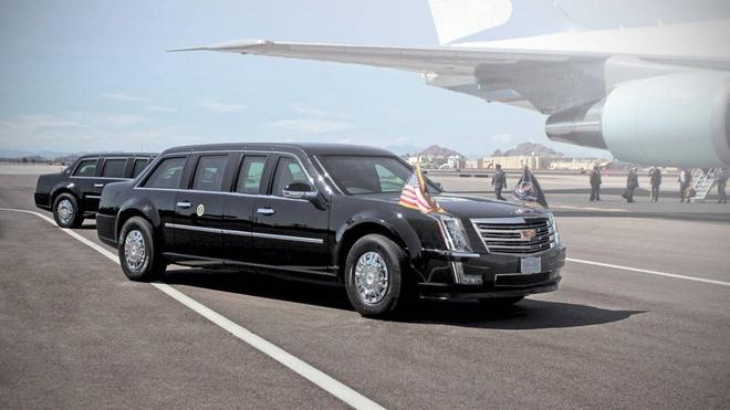 Sieu limousine cua Donald Trump co gi moi? hinh anh 1