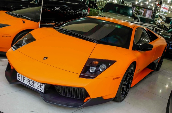 Sieu xe Lamborghini cu cua Minh Nhua thay ao moi hinh anh
