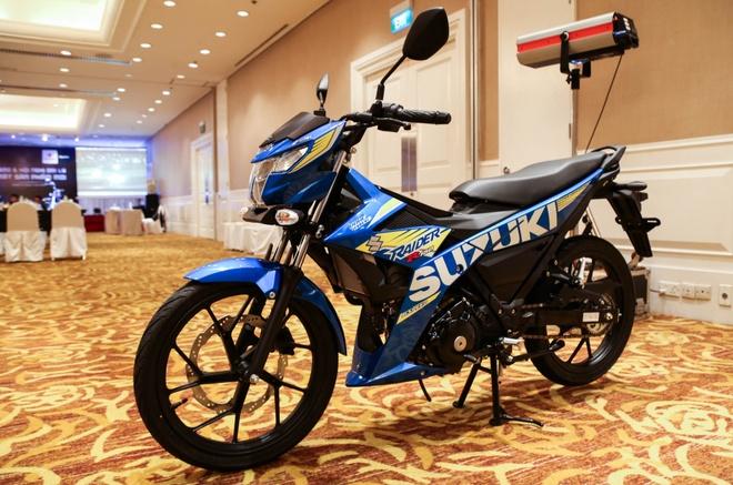 Anh Suzuki Raider 2016: Doi thu Exciter, Winner 150 tai VN hinh anh