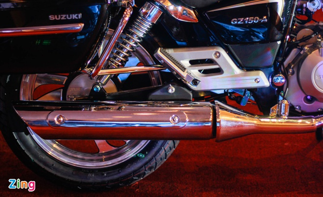 Moto hoai co Suzuki GZ150-A tro lai Viet Nam gia 64 trieu hinh anh 8