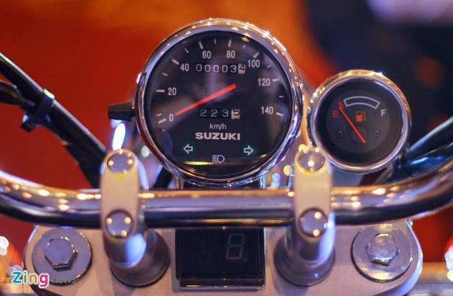 Moto hoai co Suzuki GZ150-A tro lai Viet Nam gia 64 trieu hinh anh 6