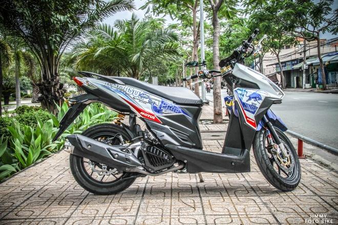 Honda Click Thai len do choi tri gia ca tram trieu dong hinh anh 1