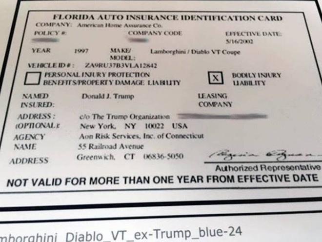 Lamborghini cu cua Donald Trump duoc rao ban tren eBay hinh anh 2