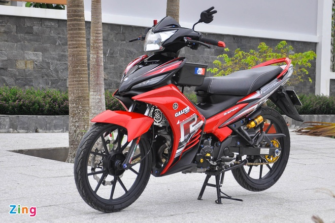 Exciter 135 do cua biker mien Tay anh 12